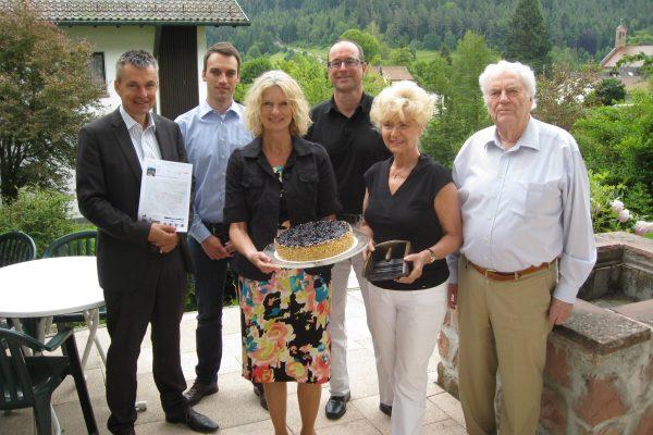 Pressekonferenz zum Thema Heidelbeeren im Hotel Schwarzwaldschäfer Enzklösterle