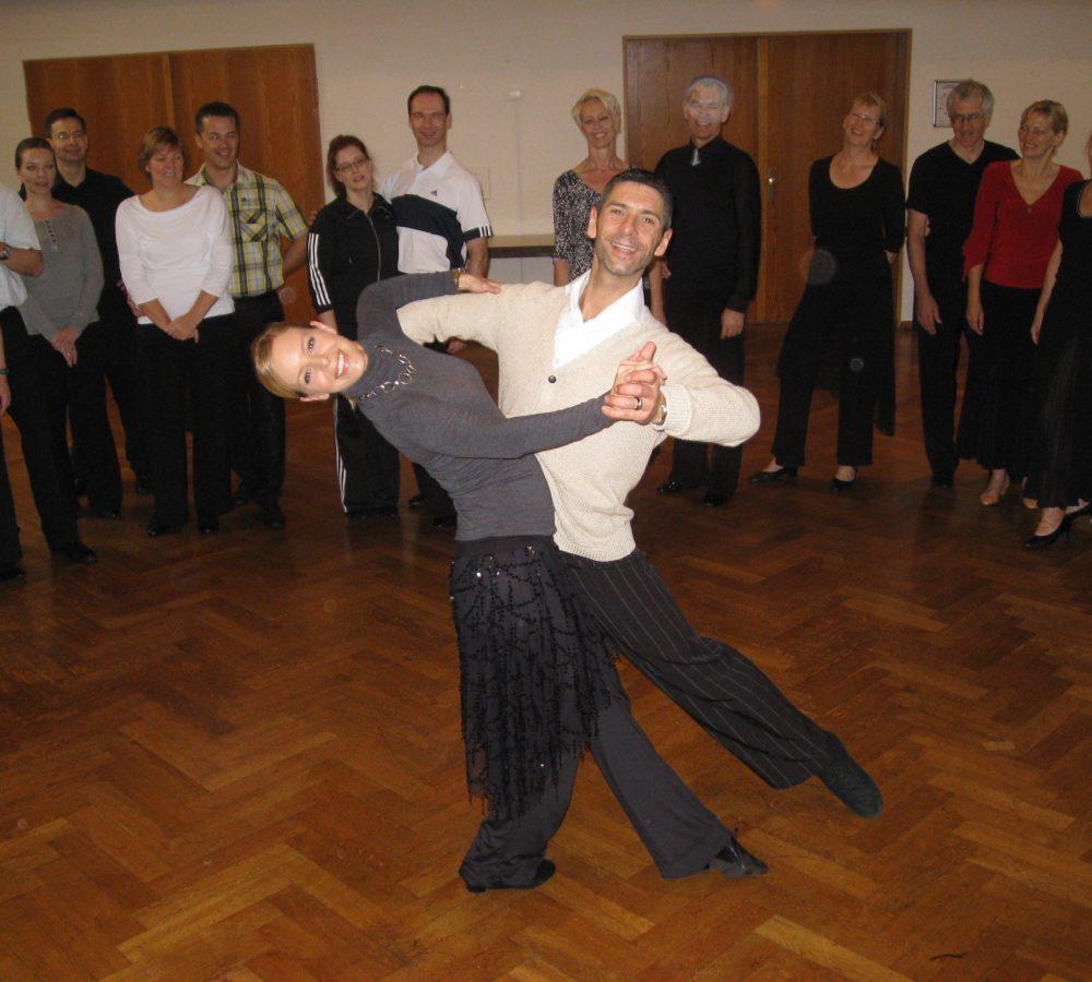 Tanzseminar mit Isabel und Marcus