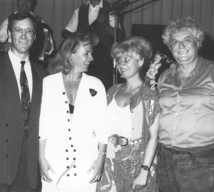 Werner und Ingrid Führer mit Biggi und Helmut Schäfer
