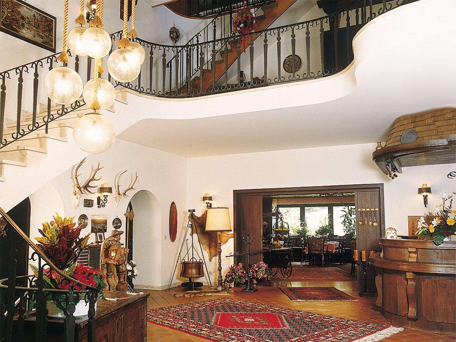 Hotell Schwarzwaldschäfer - Empfangshalle