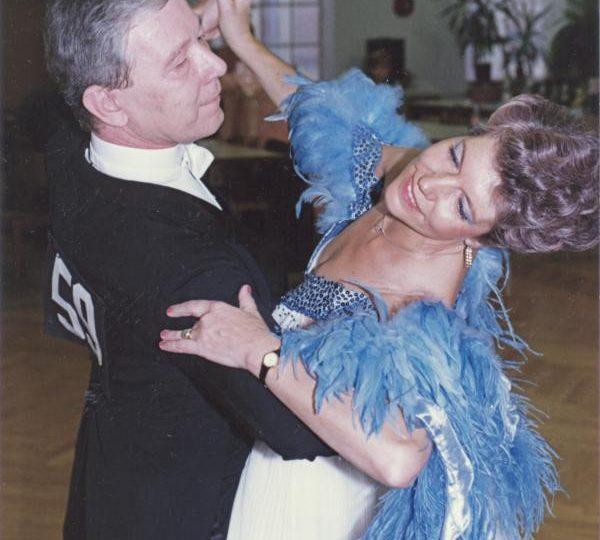 Uschi und Georg Pitthan gehören zum Urgestein der Tanzturniere in der Zeit mit Bill und Bobbie Irvine