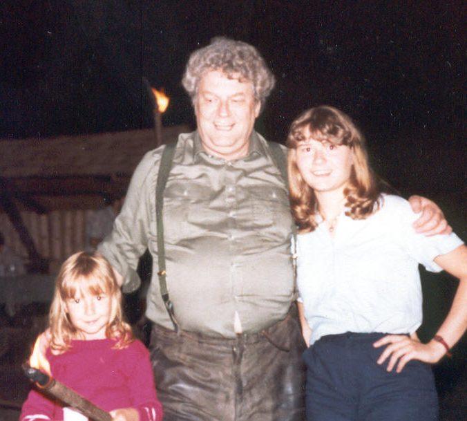 Trainingswochen Enzklösterle  - Der Schwarzwaldschäfer mit seinen Töchtern Martina und Dani